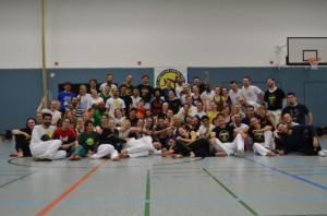 Capoeira-Trainer bei Tus Makkabi, Frankfurt2